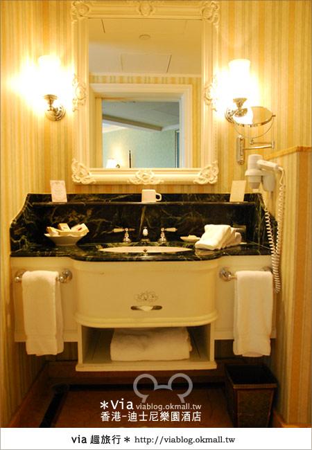 【香港住宿】跟著via玩香港(4)~迪士尼樂園酒店(外觀、房間篇)40