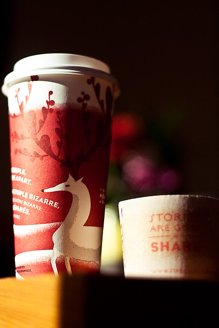2010 Starbucks Red Cups