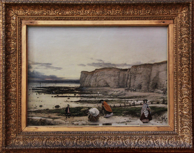 Pegwell Bay, Kent - a Recollection of October 5th 1858, William Dyce, 1858-60