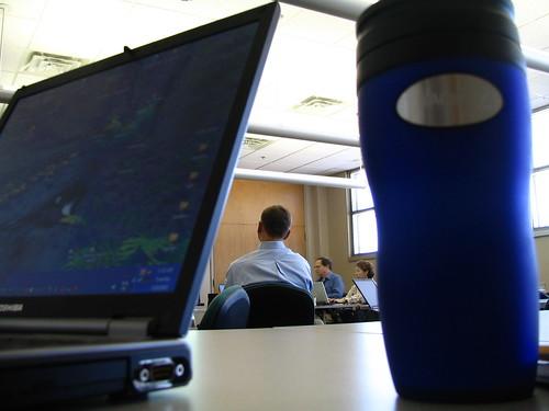 Laptop, Geeks & Coffee