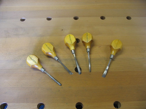 Millers Falls Carving Tools