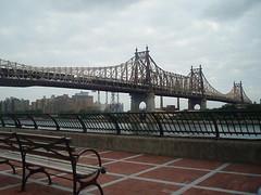 Puente Queensboro visto desde Manhattan. Foto tomada por Eddie~S