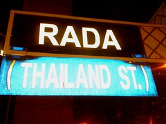 Thailand St formerly Rada Street