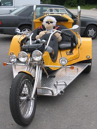 trike con piloto