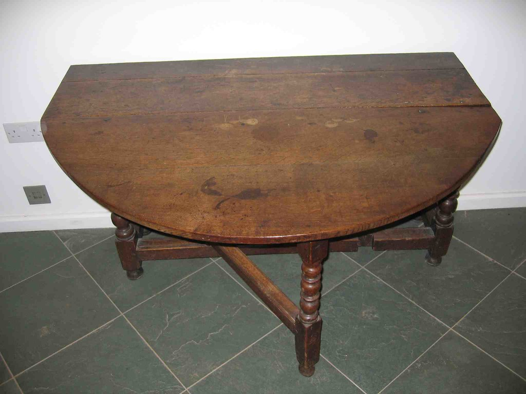 Half a Gateleg Table