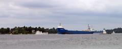 Ship (a Dan of action) Tags: 1000islands boldtcastle stlawrenceriver alexandriabay