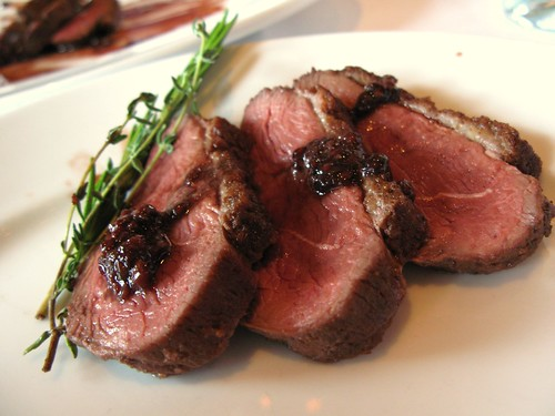 Duck Steak Closeup