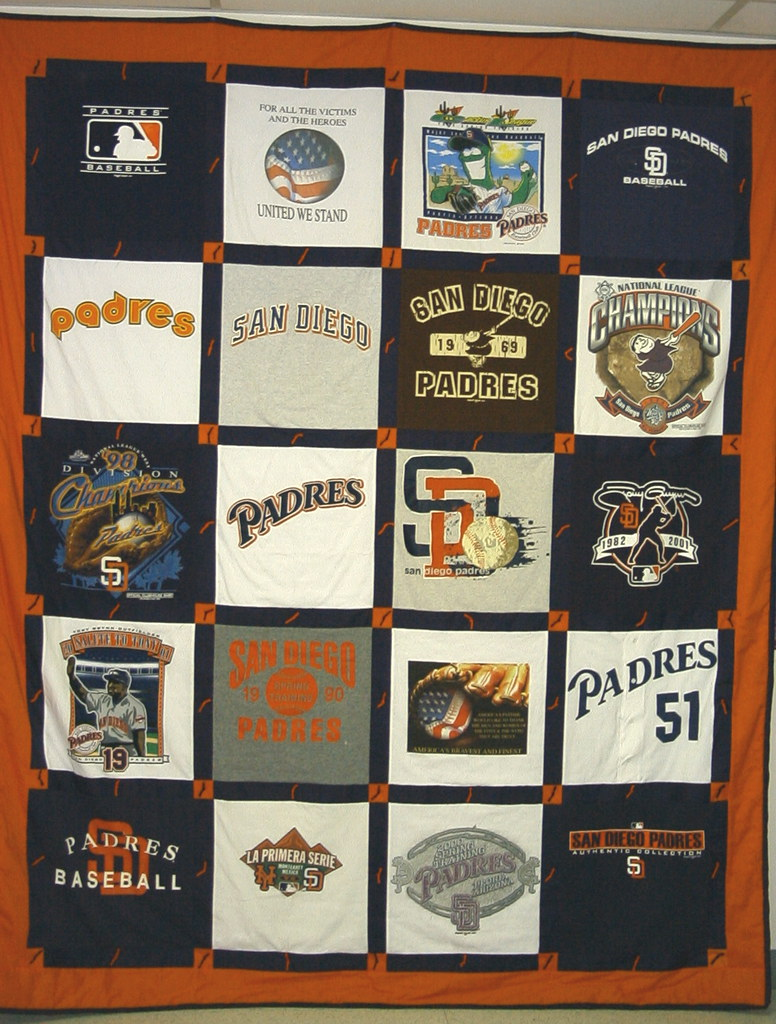 Padres T-Shirt Quilt