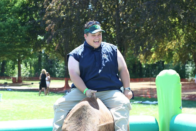 Big Guy on the Bull