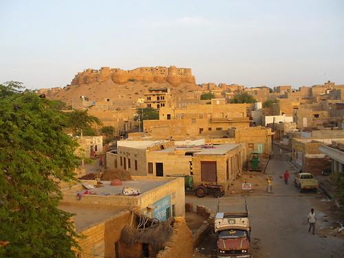 Vue sur la citadelle de Jaisalmer