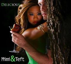 Delicious Single Cover (Mimi & Teft) Tags: music tree apple dark snake martini delicious singlecover mimiteft 1hoursong