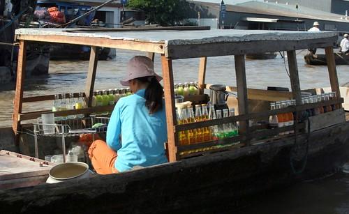 Drinks boat