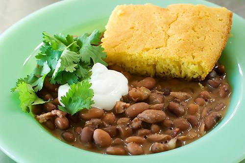 porch beans cornbread 120