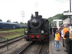 Steamtrain 1 (giedje2200loc) Tags: old germany diesel trains turntable steam locomotive bochum railfan steamtrains railroadmuseum dahlhausen