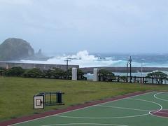 綠島的風浪