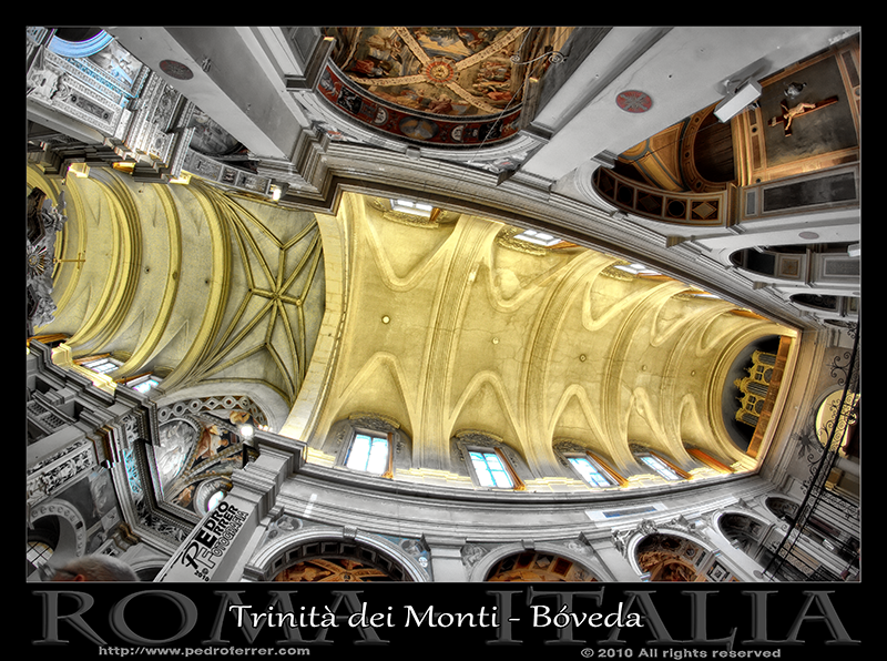 Roma - Trinità dei Monti - Bóveda