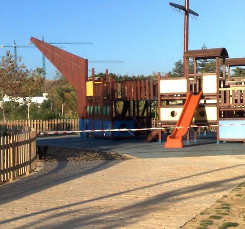 zona recreo infantil parque forestal