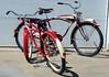 48Schwinn4 (centerprairie) Tags: red 1948 2004 bicycle illinois maroon 1998 schwinn 1949 b6 2426 balloontire