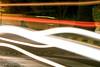 Car lights (Tempered State) Tags: longexposure night lighttrails carlights speedbump lightstreaks lightstream