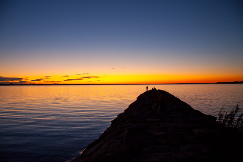 As warmth goes down the horizon by powershotpix