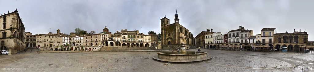 Plaza Mayor de Trujillo, Extremadura, Spain