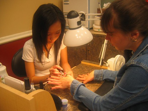 Manicure for Mollie