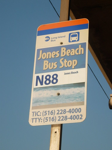 Jones Beach Bus Stop