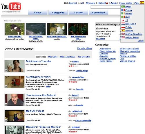 youtube es