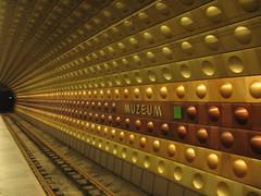 Muzeum (kpmst7) Tags: subway europe prague interior prag tunnel praha novmsto unesco trainstation czechrepublic bohemia easterneurope eurasia czechia centraleurope nationalcapital 2011 bhmen slav echy esko formerczechoslovakia