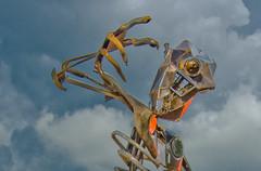 I Robot Too - Two (wentloog) Tags: art canon eos robot glastonbury publicart glastonburyfestival hdr mutoidwasteco 400d canoneos400d wentloog glastonbury2007 stevegarrington