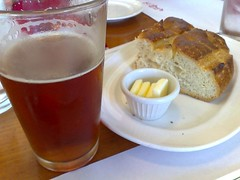 Anchor Steam Beer and Sourdough Bread