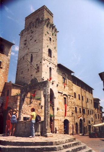 San Gimignano por Jamie Barras.