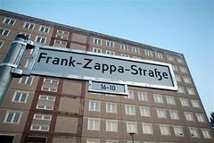 frank zappa street