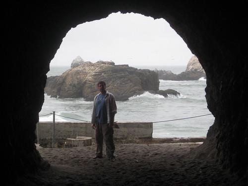 Hud at the Caves