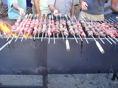 skewers, portuguese-style