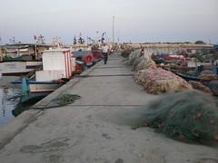 Nouveau port, Quai centrale