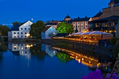Gottsunda centrum hittas strax utanför Uppsala