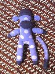 eski çoraptan maymun yapımı