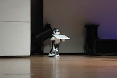 Robot brings the envelope