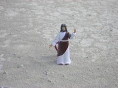Jesus in a dust storm
