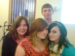 Rachel, Amy, Natasha & Callum