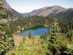 silver lake from ridge
