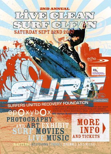 """""""live clean surf clean"""""""
