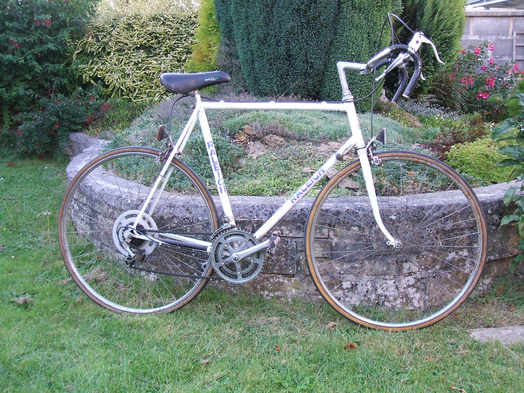 Old Raleigh Road Bike