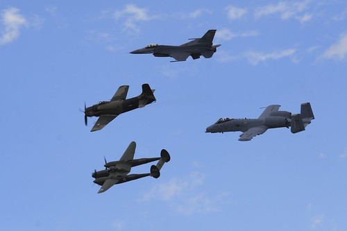 heritage flight at Reno 2007