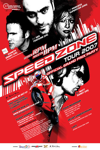 Speedzone Tour 2007