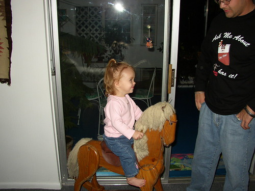 Rocking Horse with Cory