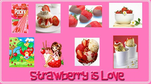 Strawberry is love