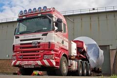 West Of Scotland Heavy Haulage (eurodaily3510) Tags: volvo crane landrover annan digger scania excavator daf brash bennetts cadzow westofscotland rayliable allelys komtsu