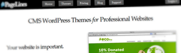 Professional CMS WordPress Themes — PageLines